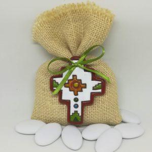 sacchetto con croce