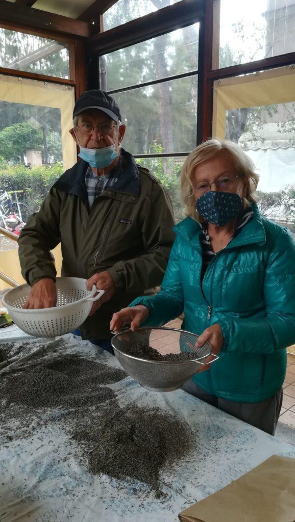 i volontari della lavanda