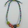 collana perle raku