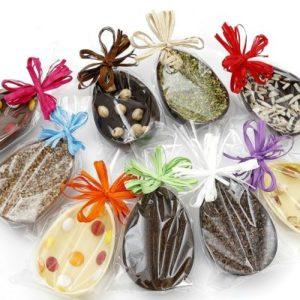 mezzo ovetto di cioccolato
