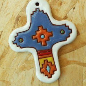 croce ceramica bolivia